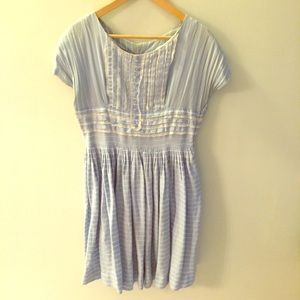 Sweet Vintage Blue Dress